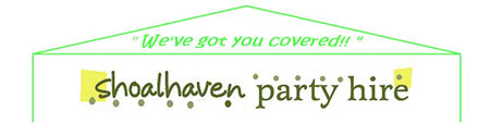 Business logo for Shoalhaven Party Hire - South Nowra