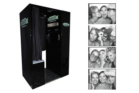 Photo booth and photo strips from Photobooth Freedom in Nowra.