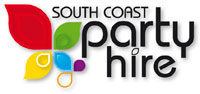 South Coast Party Hire business logo.