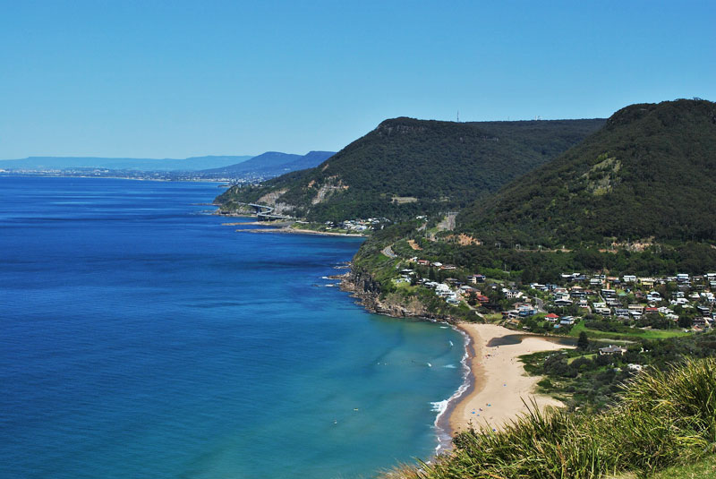 Beach Coastline Stanwell Tops, Wollongong, Illawarra Region South Coast NSW