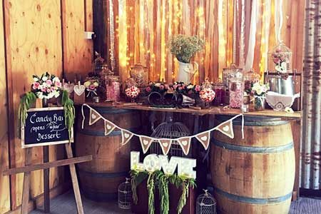 Wedding styling by Creativlee Weddings and Events.