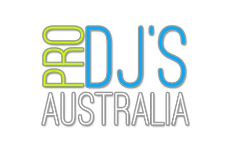 Award winning wedding DJ and Master of Ceremonies - Pro DJs Australia logo.